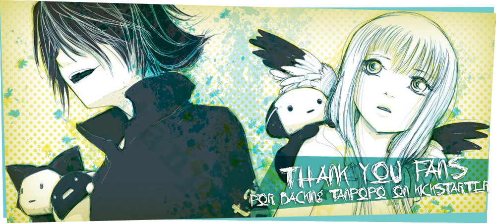 Thanks for backing Tanpopo on Kickstarter.